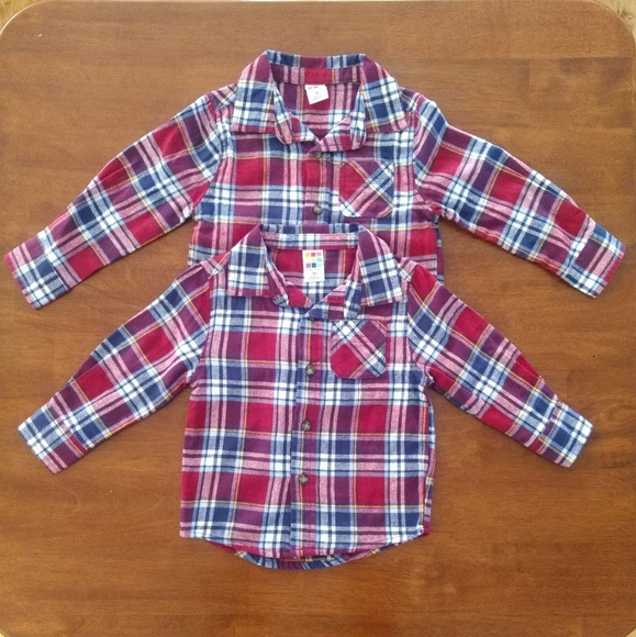 0790ae2aa healthtex Shirts & Tops | Boys Plaid Flannel 2t3t Shirt Bundle ...